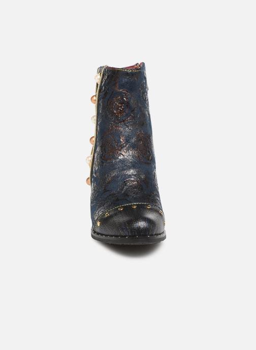 Bottines et boots Laura Vita EMILIE 03 Bleu vue portées chaussures
