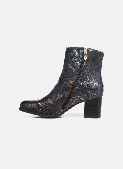 Ankle boots Laura Vita EMILIE 03 Blue front view