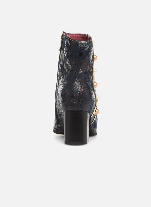 Bottines et boots Laura Vita EMILIE 03 Bleu vue droite