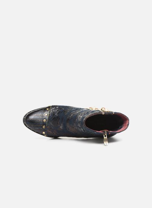 Bottines et boots Laura Vita EMILIE 03 Bleu vue gauche