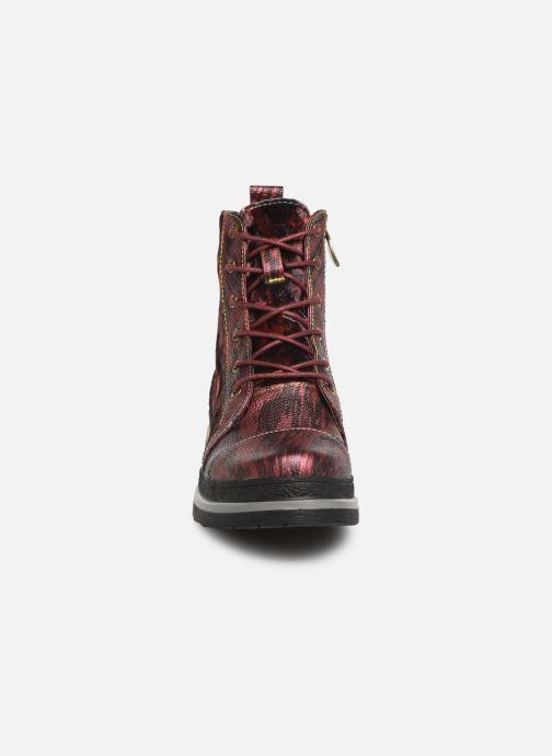 Bottines et boots Laura Vita ERICKA 03 Rouge vue portées chaussures