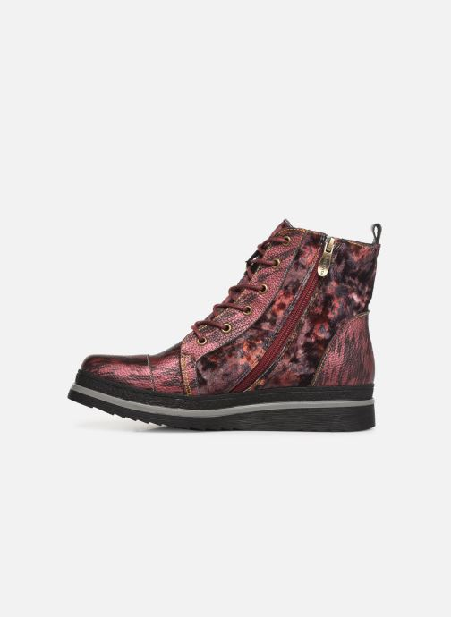 Bottines et boots Laura Vita ERICKA 03 Rouge vue face