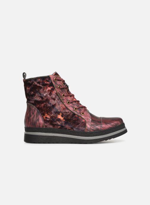 Bottines et boots Laura Vita ERICKA 03 Rouge vue derrière