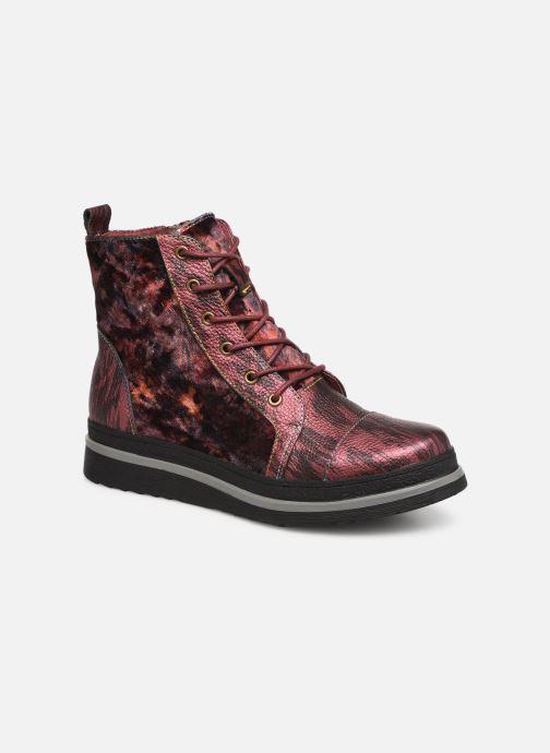 Bottines et boots Laura Vita ERICKA 03 Rouge vue détail/paire