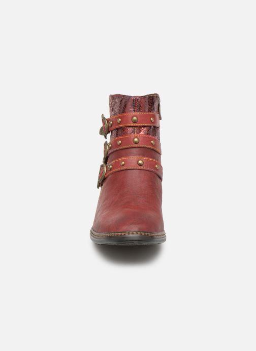 Bottines et boots Laura Vita ERWIN 03 Rouge vue portées chaussures