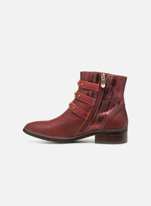Bottines et boots Laura Vita ERWIN 03 Rouge vue face