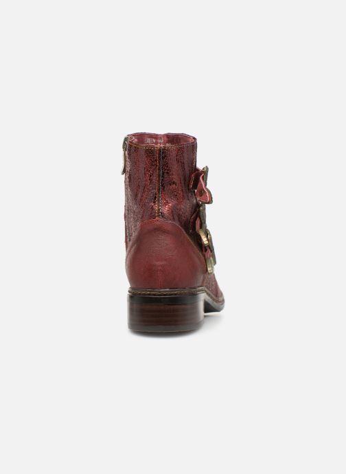 Bottines et boots Laura Vita ERWIN 03 Rouge vue droite