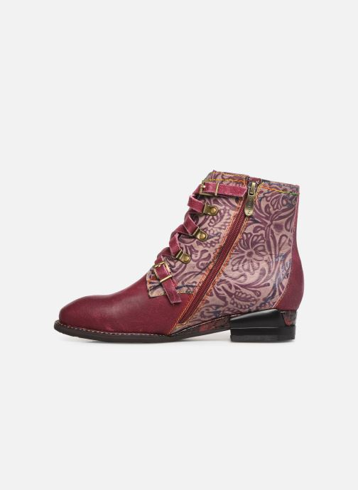 Ankle boots Laura Vita EUDINE 05 Burgundy front view