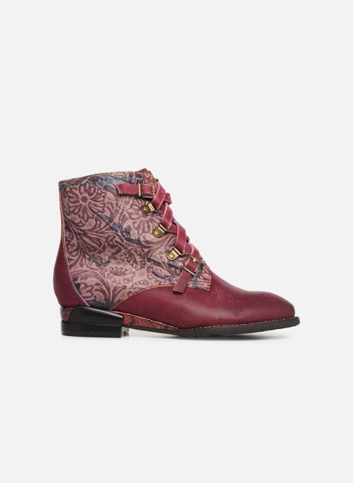 Ankle boots Laura Vita EUDINE 05 Burgundy back view