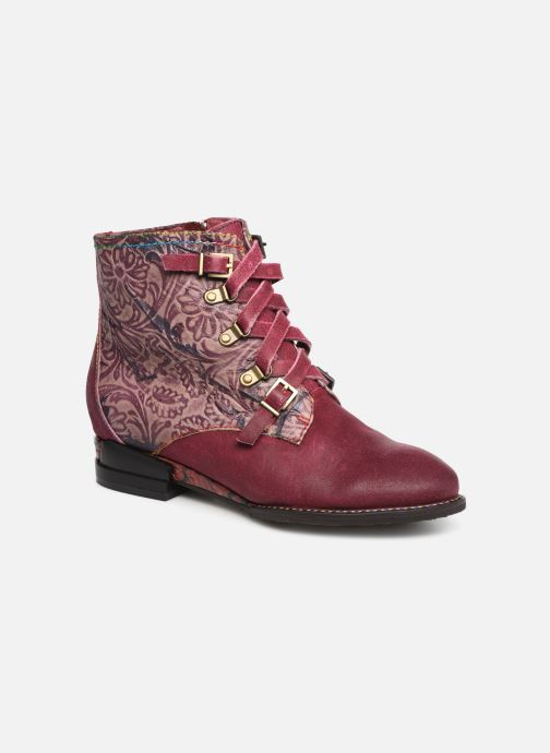 Ankle boots Laura Vita EUDINE 05 Burgundy detailed view/ Pair view
