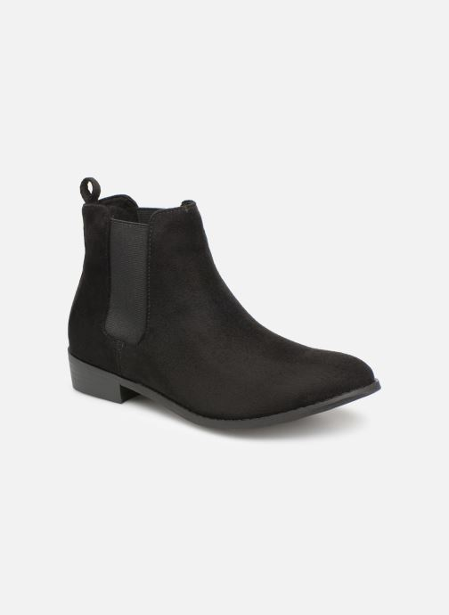 Ankle boots Bianco 26-50102 Black detailed view/ Pair view