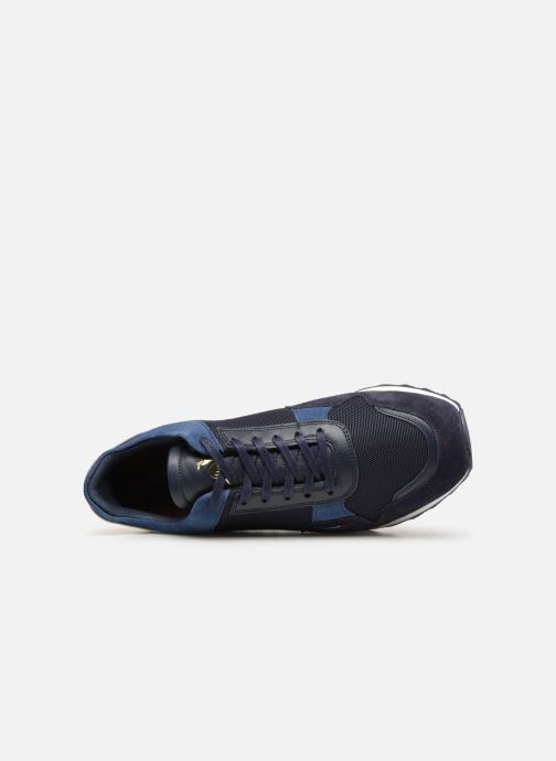 Trainers Le Coq Sportif Challenger Blue view from the left