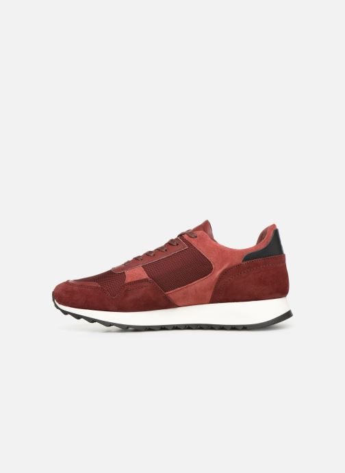 Sneakers Le Coq Sportif Challenger Rosso immagine frontale