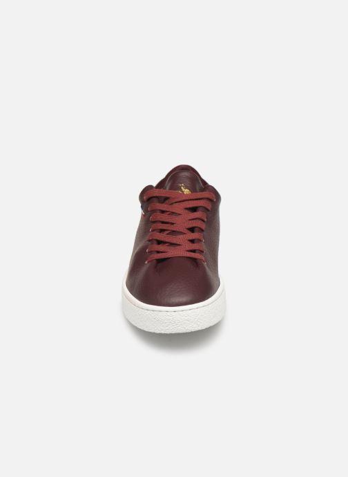 Baskets Le Coq Sportif Ace Bordeaux vue portées chaussures