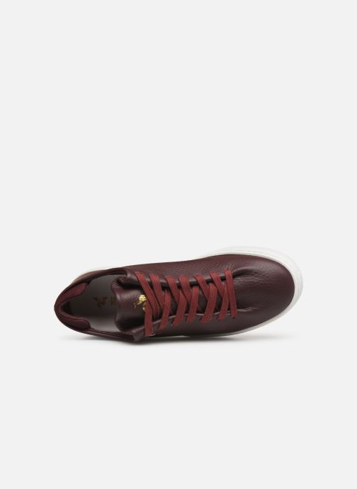 Trainers Le Coq Sportif Ace Burgundy view from the left