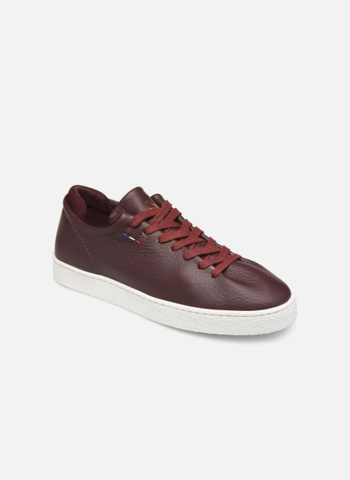 Trainers Le Coq Sportif Ace Burgundy detailed view/ Pair view