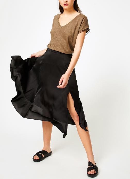 Vêtements I.Code QN10044 Vert vue bas / vue portée sac