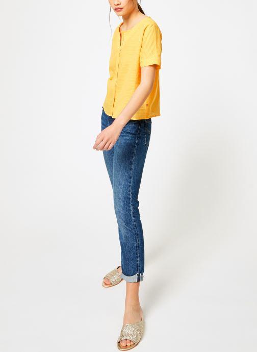 Vêtements I.Code QN11044 Jaune vue bas / vue portée sac