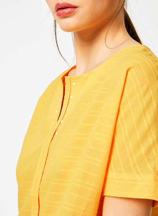 Vêtements I.Code QN11044 Jaune vue face