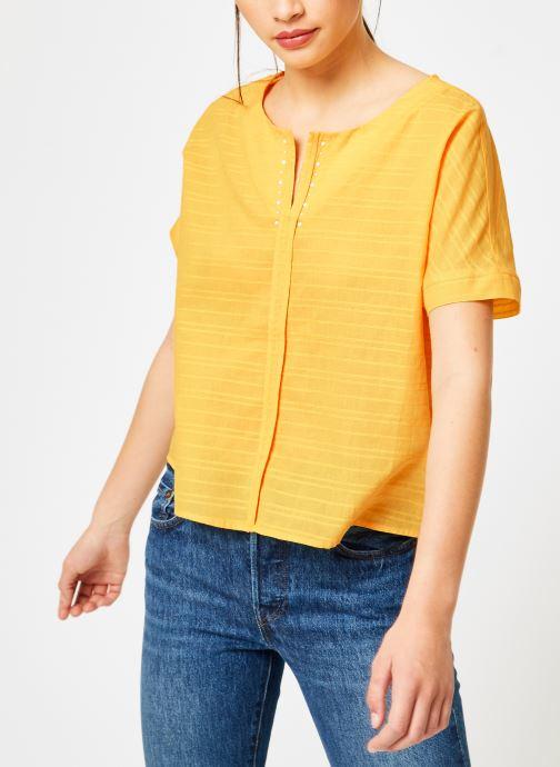 Vêtements I.Code QN11044 Jaune vue droite