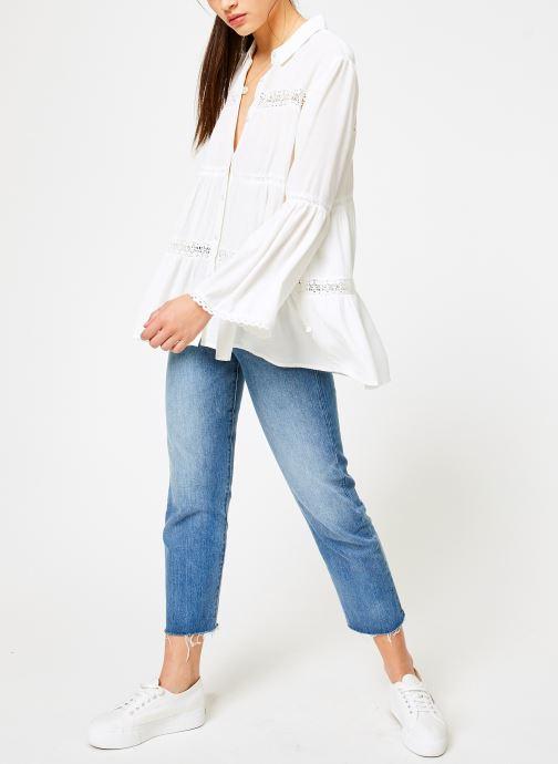 Vêtements I.Code QN12064 Blanc vue bas / vue portée sac
