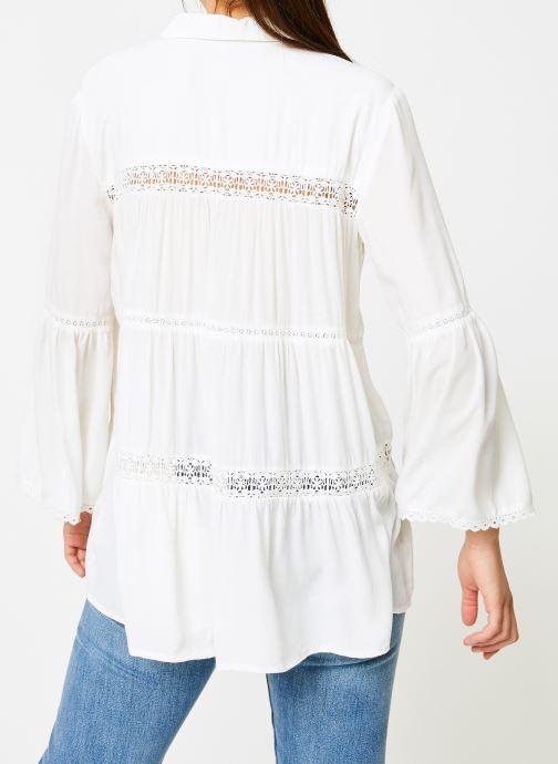 Vêtements I.Code QN12064 Blanc vue portées chaussures