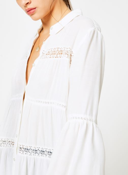 Vêtements I.Code QN12064 Blanc vue face