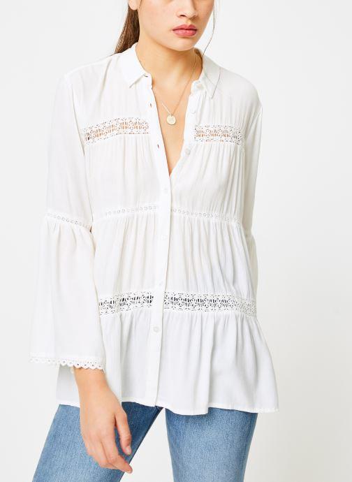 Vêtements I.Code QN12064 Blanc vue droite