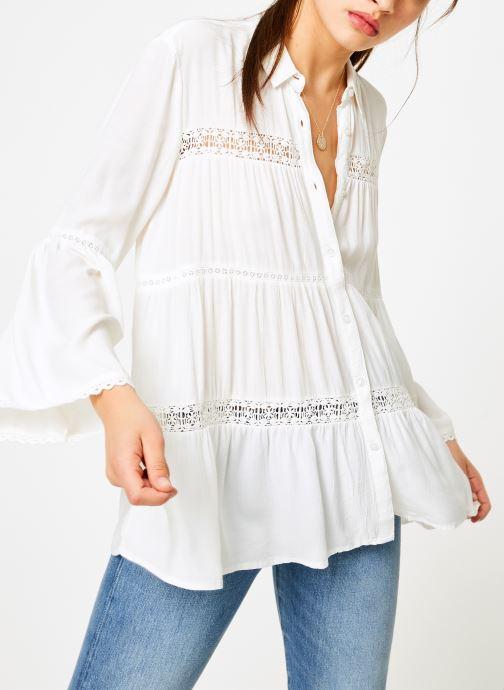 Vêtements I.Code QN12064 Blanc vue détail/paire