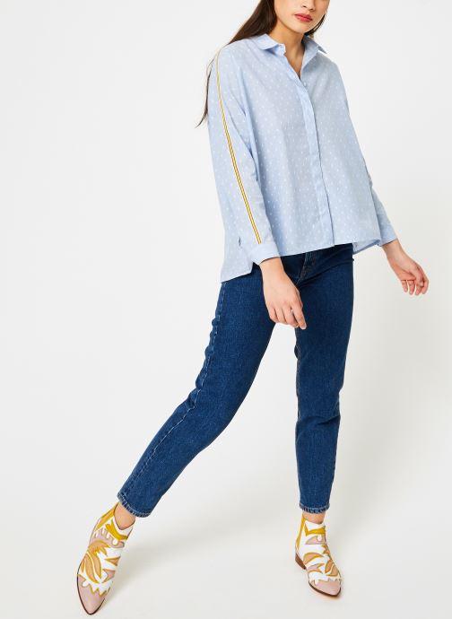 Vêtements I.Code QN12074 Bleu vue bas / vue portée sac