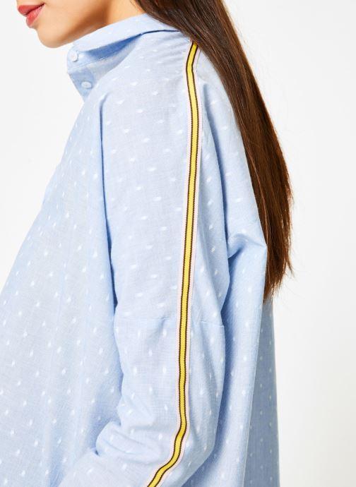 Vêtements I.Code QN12074 Bleu vue face