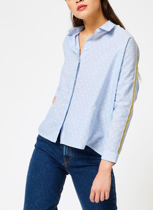Vêtements I.Code QN12074 Bleu vue droite