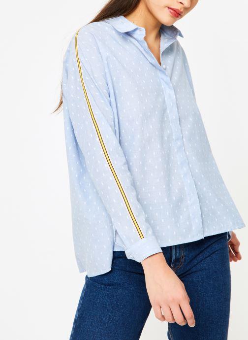 Vêtements I.Code QN12074 Bleu vue détail/paire