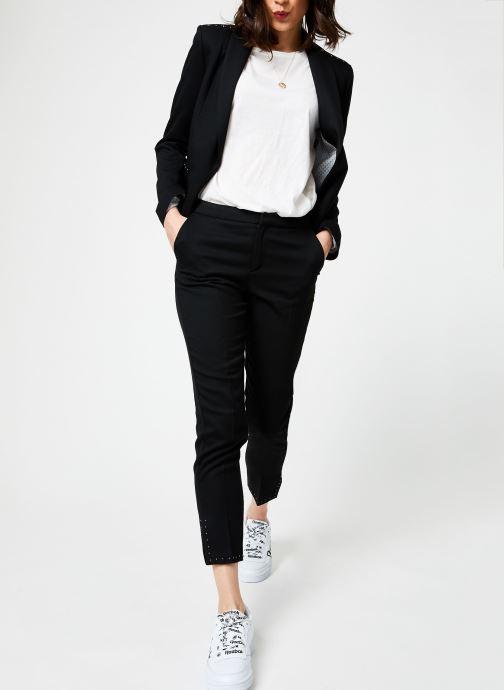 Vêtements I.Code QN22004 Noir vue bas / vue portée sac