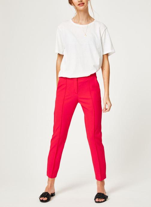 Vêtements I.Code QN22014 Rouge vue bas / vue portée sac