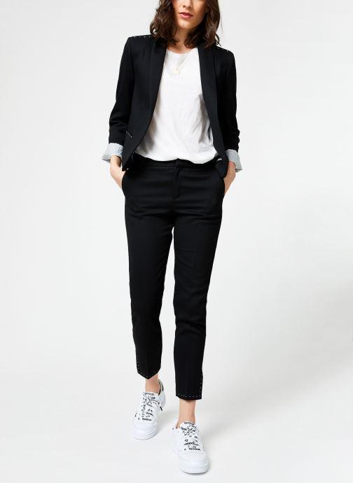 Vêtements I.Code QN40004 Noir vue bas / vue portée sac