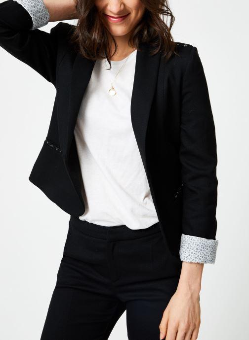 Vêtements I.Code QN40004 Noir vue droite