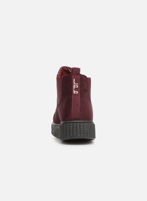 Ankle boots Les P'tites Bombes ANNABELLE Burgundy view from the right