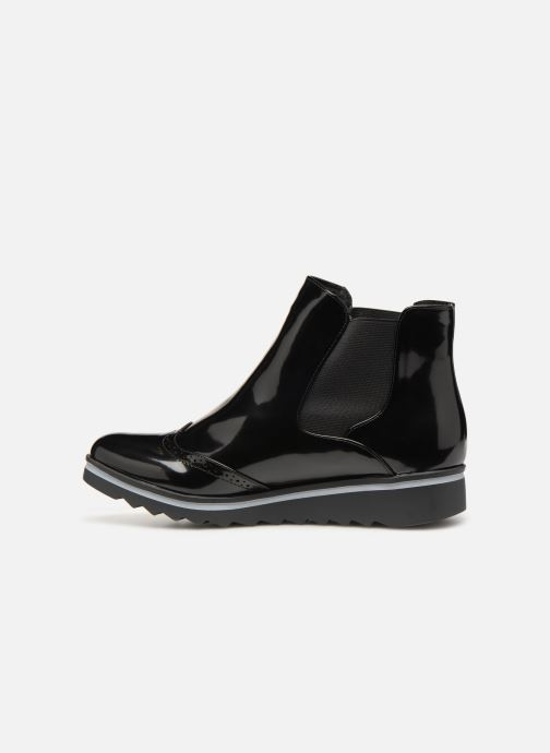 Ankle boots Les P'tites Bombes BENEDICTE Black front view