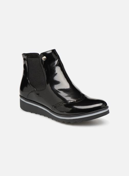 Ankle boots Les P'tites Bombes BENEDICTE Black detailed view/ Pair view