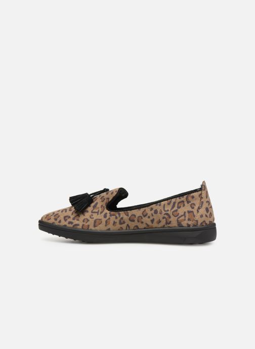 Loafers Les P'tites Bombes FLAVIE Brown front view