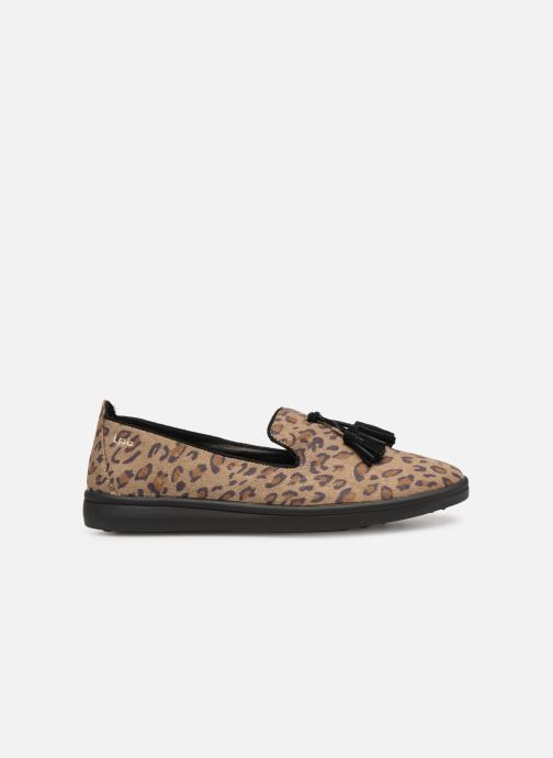 Loafers Les P'tites Bombes FLAVIE Brown back view