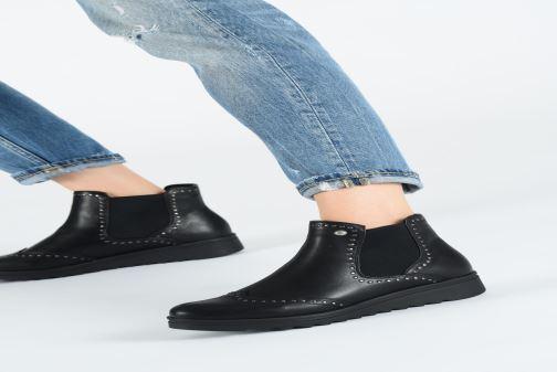 Bottines et boots Les P'tites Bombes HANAE Noir vue bas / vue portée sac