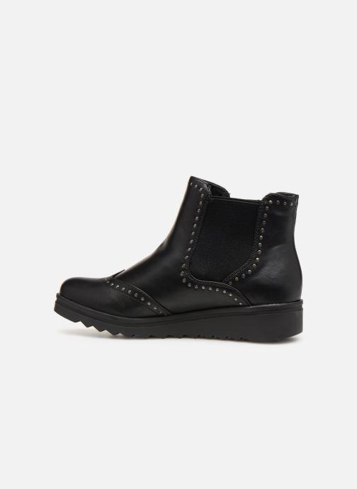 Boots en enkellaarsjes Les P'tites Bombes HANAE Zwart voorkant