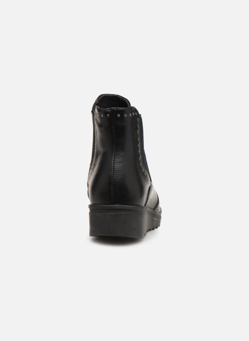 Boots en enkellaarsjes Les P'tites Bombes HANAE Zwart rechts