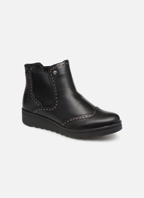 Boots en enkellaarsjes Les P'tites Bombes HANAE Zwart detail