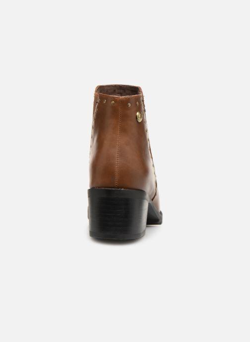 Bottines et boots Les P'tites Bombes LAURA Marron vue droite