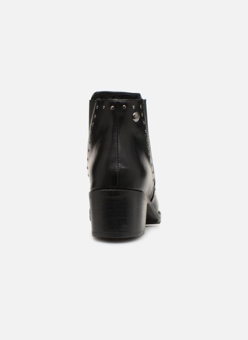 Ankle boots Les P'tites Bombes LAURA Black view from the right
