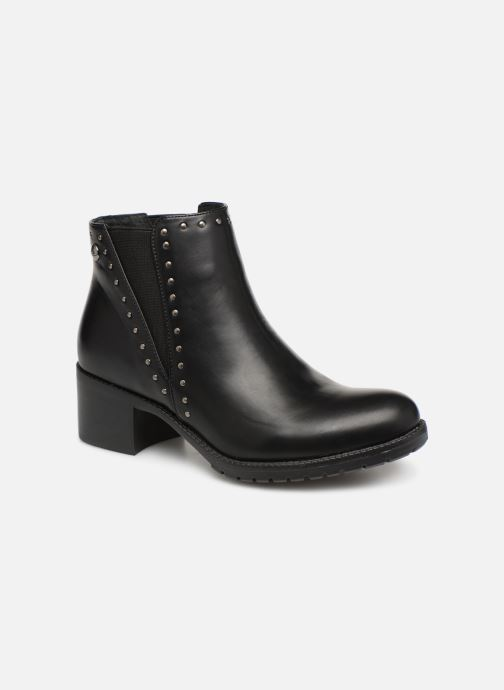 Ankle boots Les P'tites Bombes LAURA Black detailed view/ Pair view