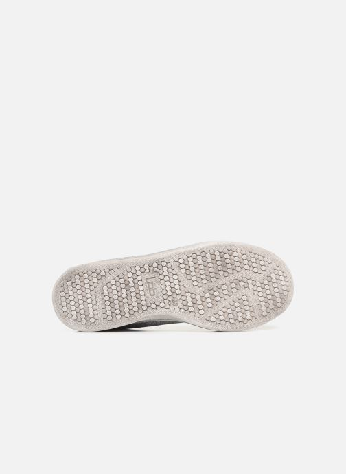 Ballet pumps Les P'tites Bombes ETOILE METAL Grey view from above